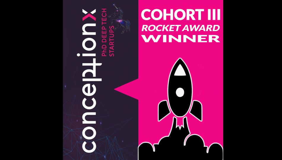 ConceptionX Cohort III Rocket Award Winner